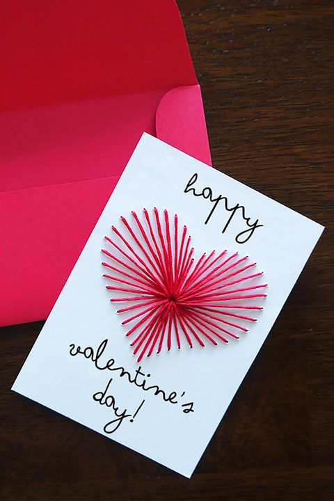 26 diy valentines day cards homemade valentines country living embroidered heart valentines day card diy m4hsunfo