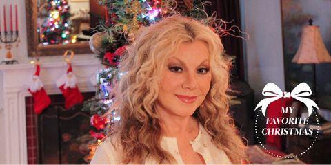 Hair, Blond, Hairstyle, Christmas, Beauty, Christmas eve, Long hair, Christmas decoration, Lip, Brown hair,