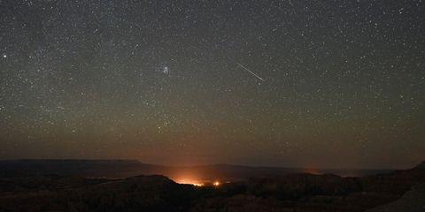 lenoid meteor shower