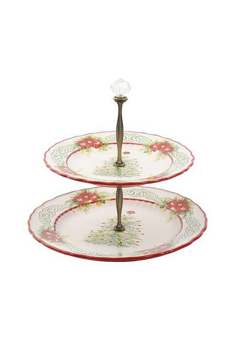Cake stand, Serveware, Tableware, Dishware, Table, Platter, Glass, Plate, Metal,