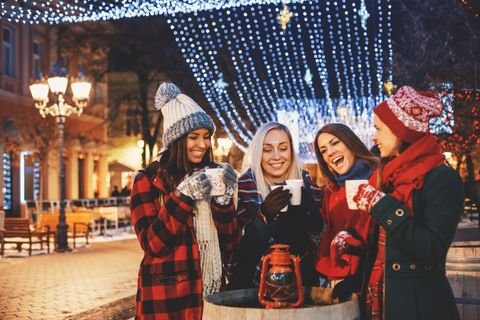 Photograph, People, Red, Snapshot, Fun, Winter, Plaid, Event, Design, Christmas,