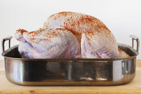 how to unthaw turkey