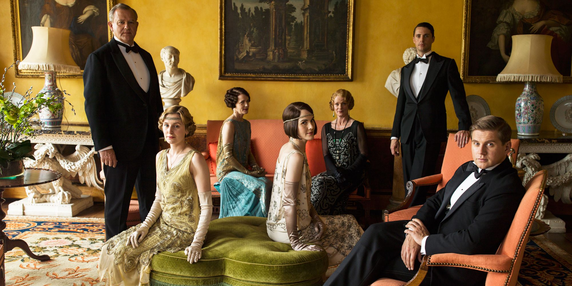 Downton Abbey Movie Reactions - Cast React to Official Film Announcement