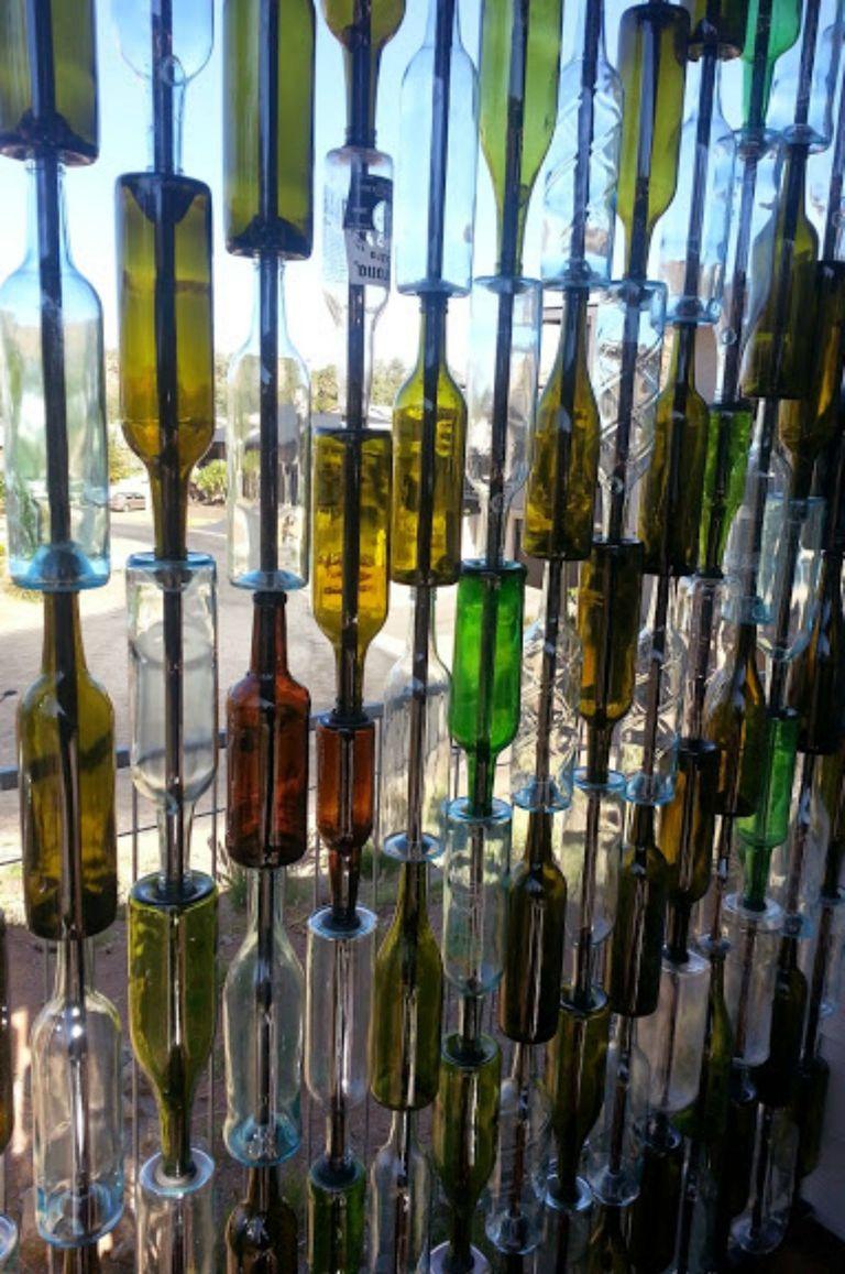reciclar botellas de vino vacías