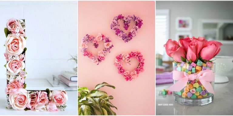 18 Sweet and Simple DIY Valentine\'s Day Decorations - Valentine Decor