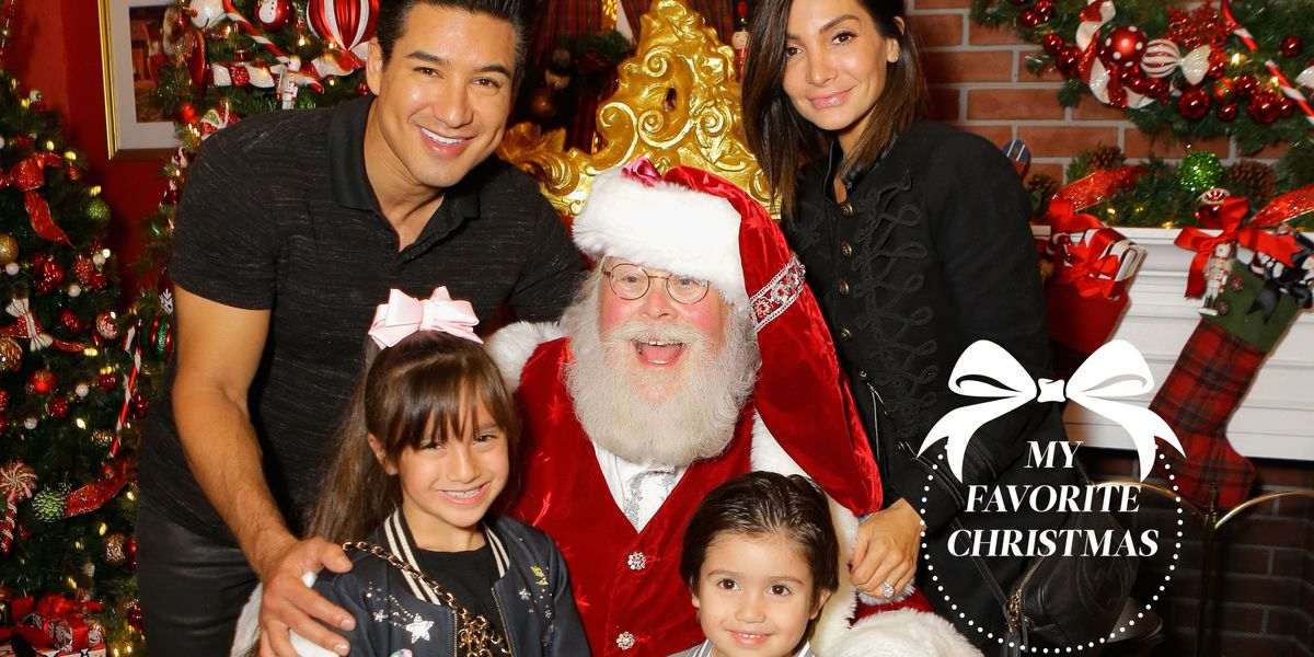 Mario Lopez S Favorite Christmas Memories Mario Lopez