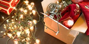 christmas tree lights in box