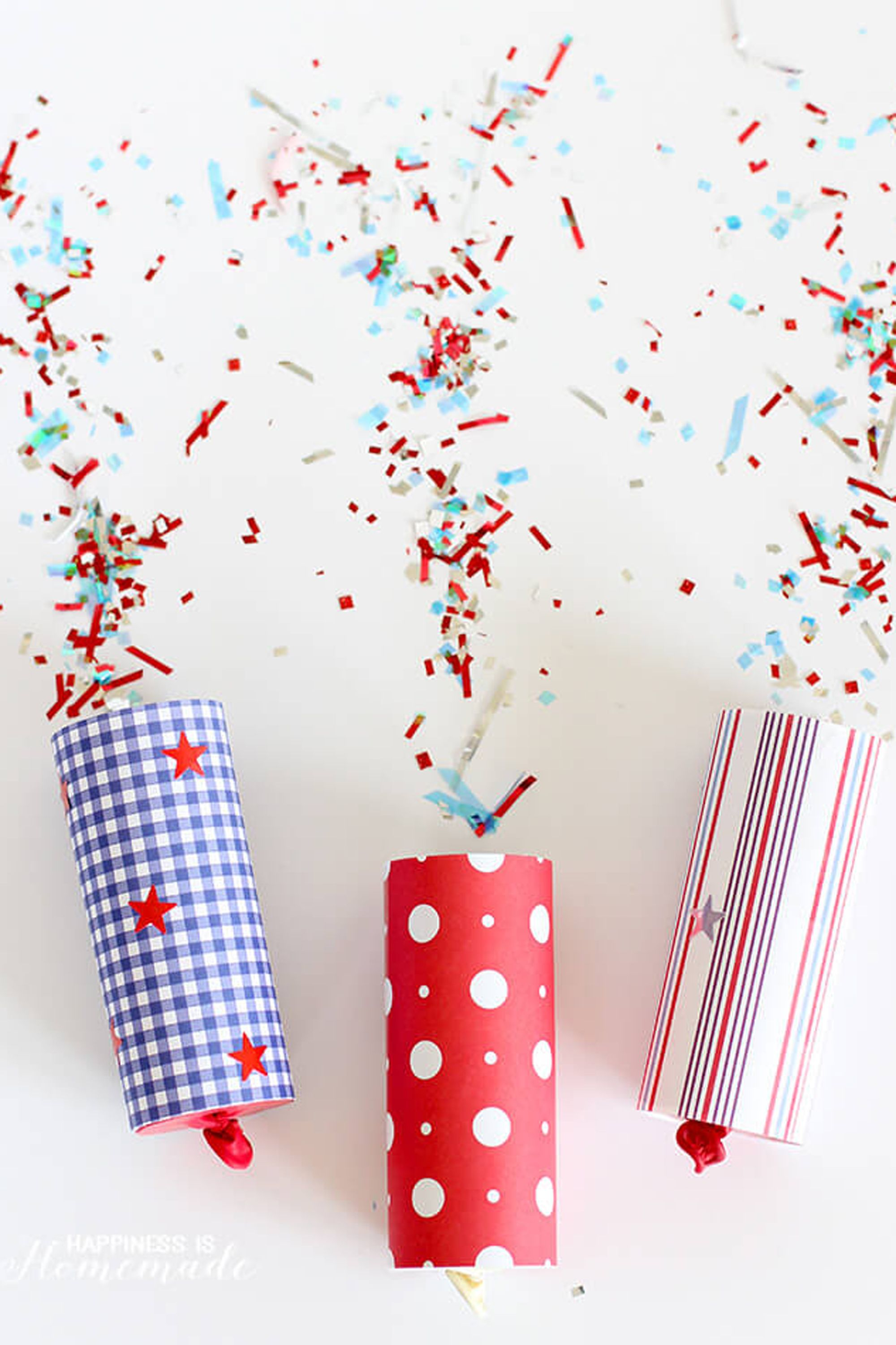 confetti poppers toilet paper roll crafts