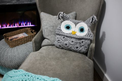 DIY Crochet Owl Blanket How To Make Hooded Owl Blanket Best Owl Afghan Crochet Pattern Free
