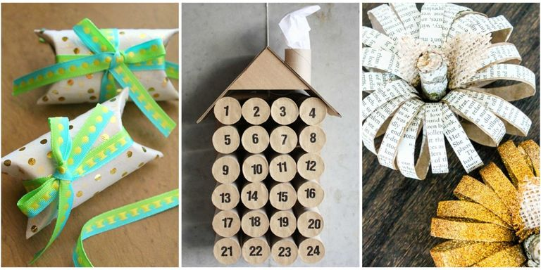 Easy Arts And Crafts With Toilet Paper Rolls