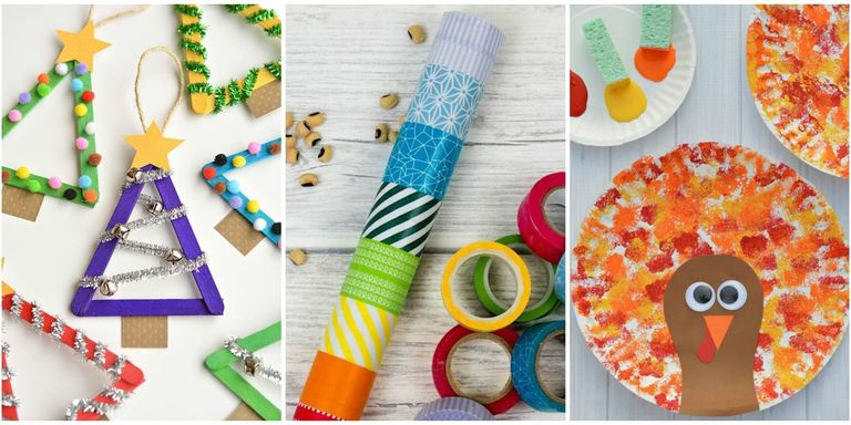 10 Easy Crafts For Toddlers Arts And Crafts Ideas For Toddlers Age 2 3