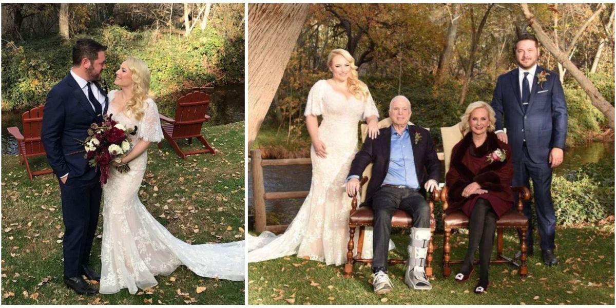 Meghan Mccain Rustic Country Wedding See Meghan Mccain S