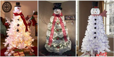 snowman christmas tree tutorial where to buy a snowman christmas tree - Snowman Christmas Tree Decorations
