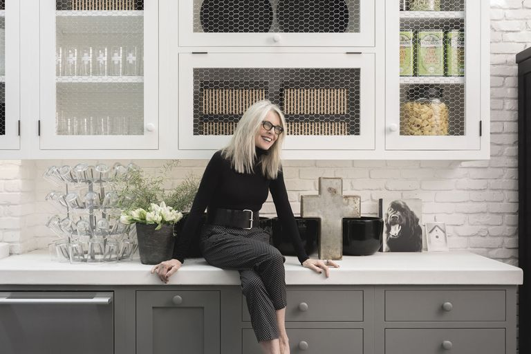 Inside Diane Keaton 39 S Rustic House Diane Keaton The House That Pinterest Built