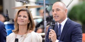 Natalie Morales and Matt Lauer