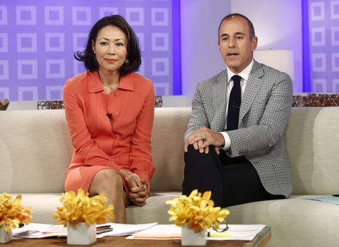 Ann Curry and Matt Lauer on the Today show