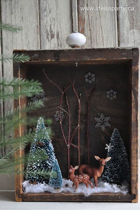 Christmas Diorama Ornaments.Christmas Dioramas How To Make Christmas Dioramas And