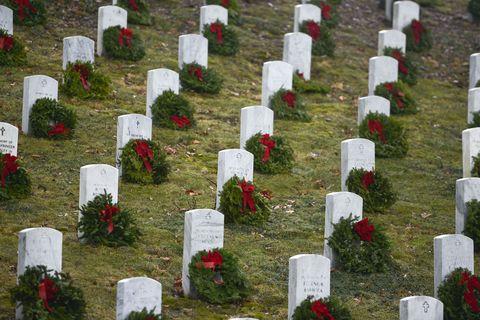 Cemetery, Grave, Headstone, Grass, Memorial, Plant, Memorial day, Nonbuilding structure,
