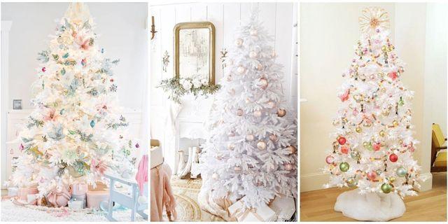 White Christmas Tree Trend