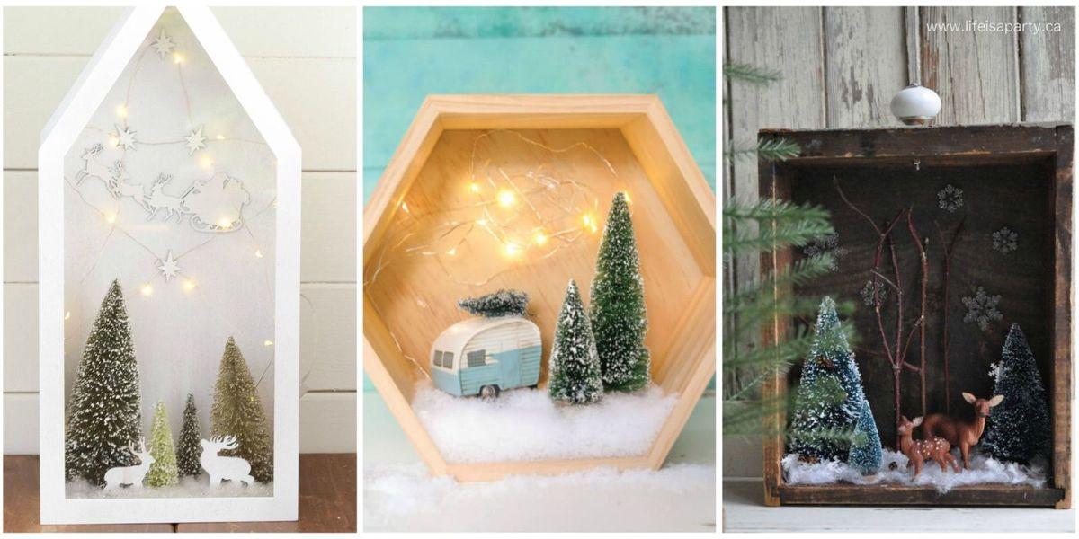Christmas Dioramas How To Make Christmas Dioramas And