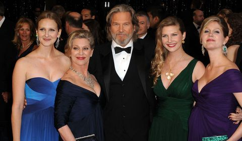 jeff bridges and susan gestons marriage how long have