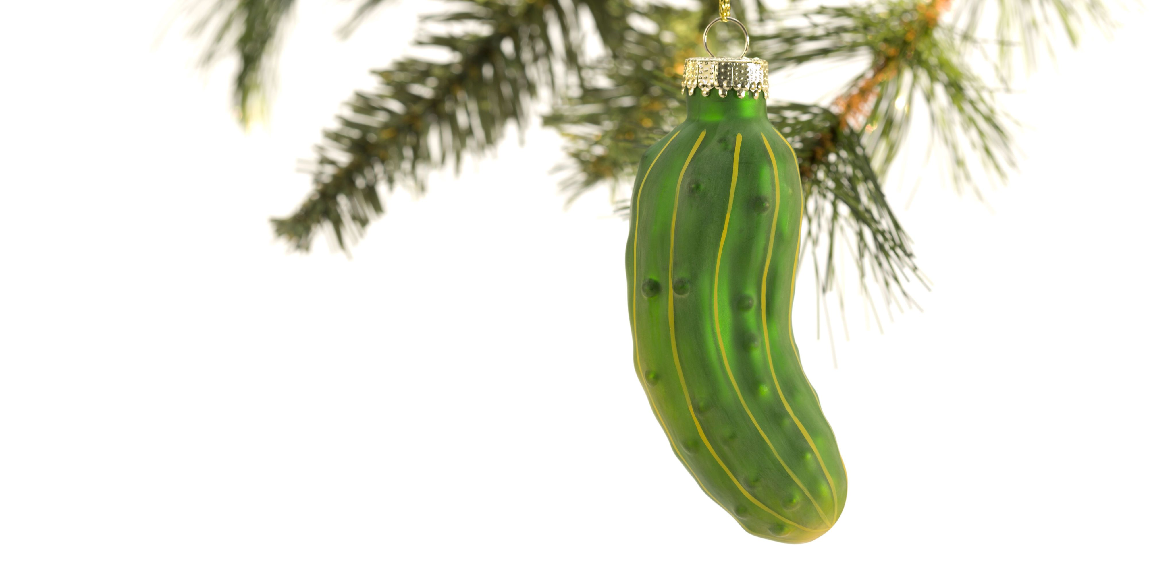 photograph about Christmas Pickle Story Printable called Historical past of the Pickle Xmas Ornament Culture