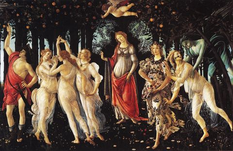 Painting, Art, Mythology, Human, Visual arts, Illustration,