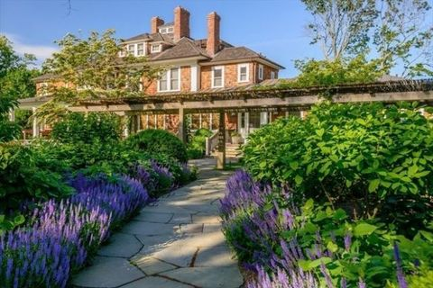 Garden, Property, Natural landscape, Flower, Building, Plant, Estate, House, Home, Lavender,