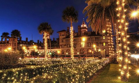 st. augustine, florida night of lights