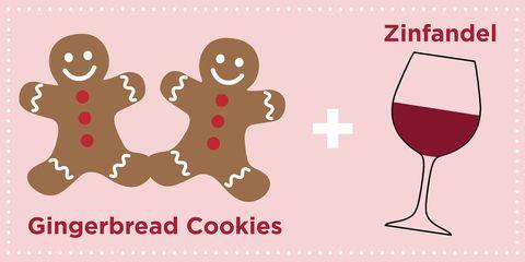 christmas cookie wine pairings