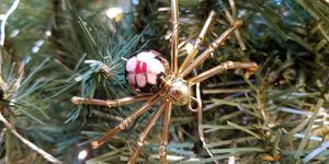 spider christmas ornament tradition