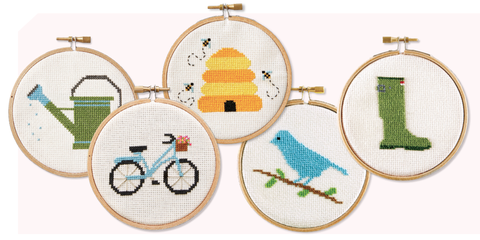 Giveaways and sweepstakes magazine sweeps and prizes for Country living magazine cross stitch