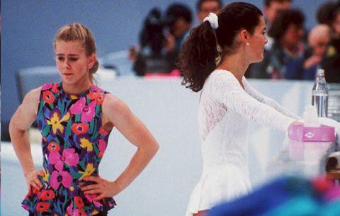 Tonya Harding and Nancy Kerrigan