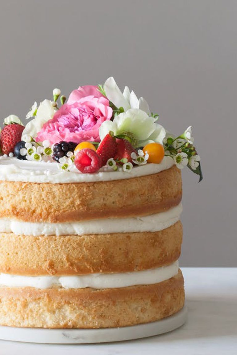25 best homemade wedding cake recipes from scratch how for Best ever apple cake country living