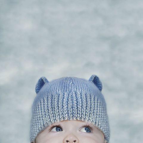 Beanie, Knit cap, Blue, Child, Cap, Head, Knitting, Bonnet, Headgear, Crochet,