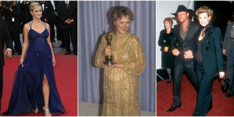 21 Best Celebrity Red Carpet Pregnant Photos - Celebrity