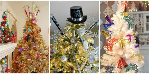 new year tree decorating ideas