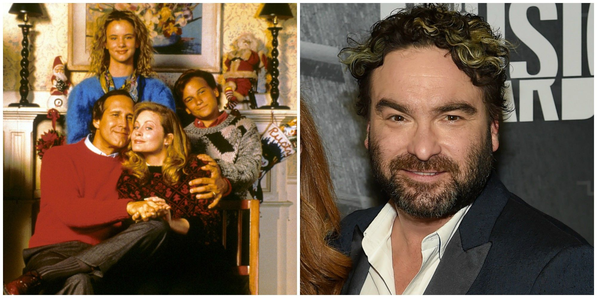Johnny Galecki Christmas Vacation.Christmas Movie Child Stars Where Are They Now