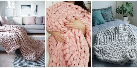 Chunky Knit Blankets