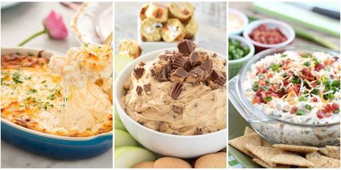 40 easy dip recipes best party dips country living party dip recipes forumfinder Image collections