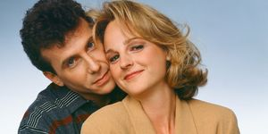 Paul Reiser & Helen Hunt in Mad About You