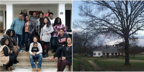 family buys house where ancestors picked cotton