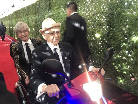 Rita Moreno and Norman Lear