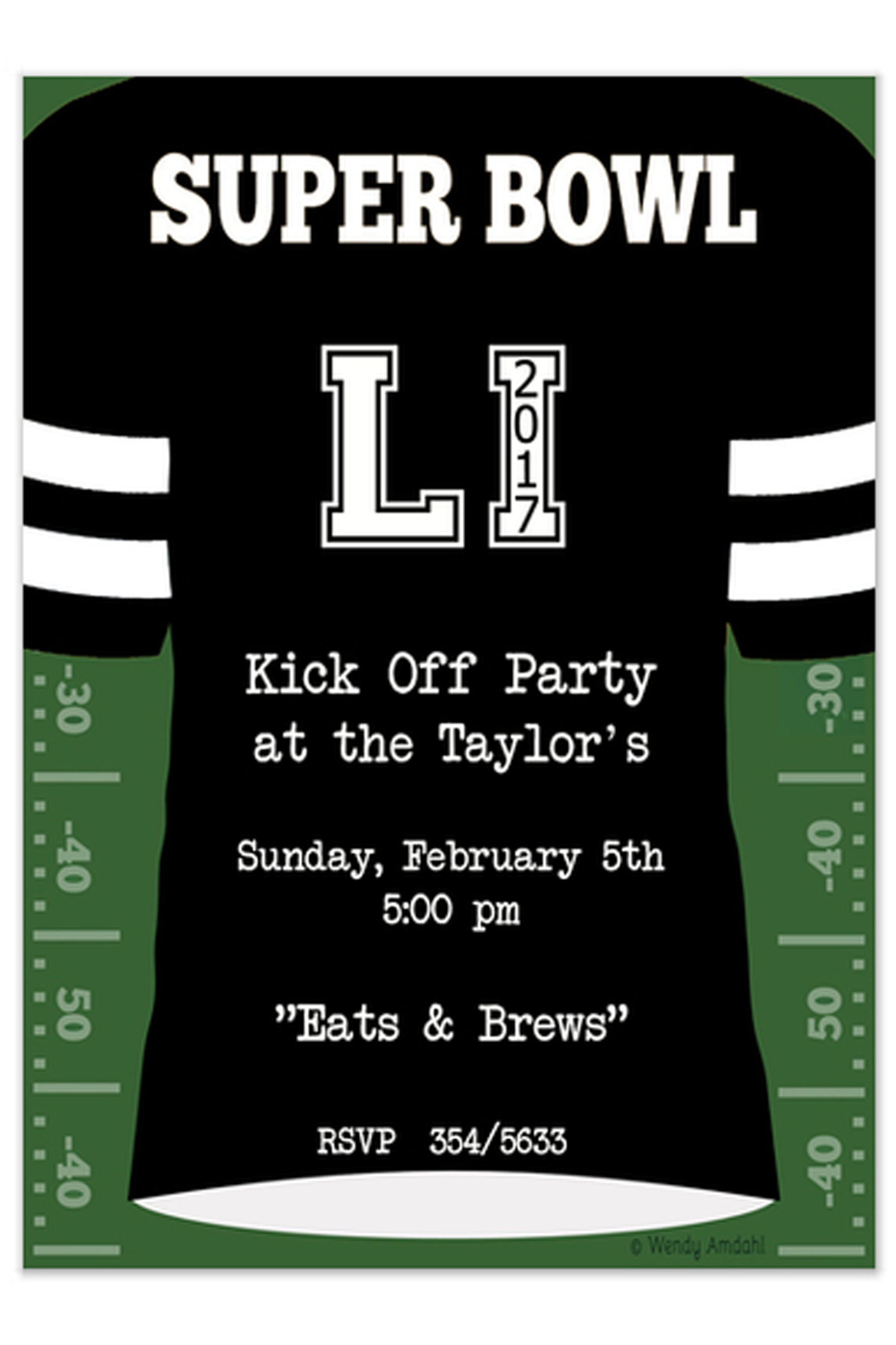 14 Free Super Bowl Party Invitations 2018 Football Party Invites