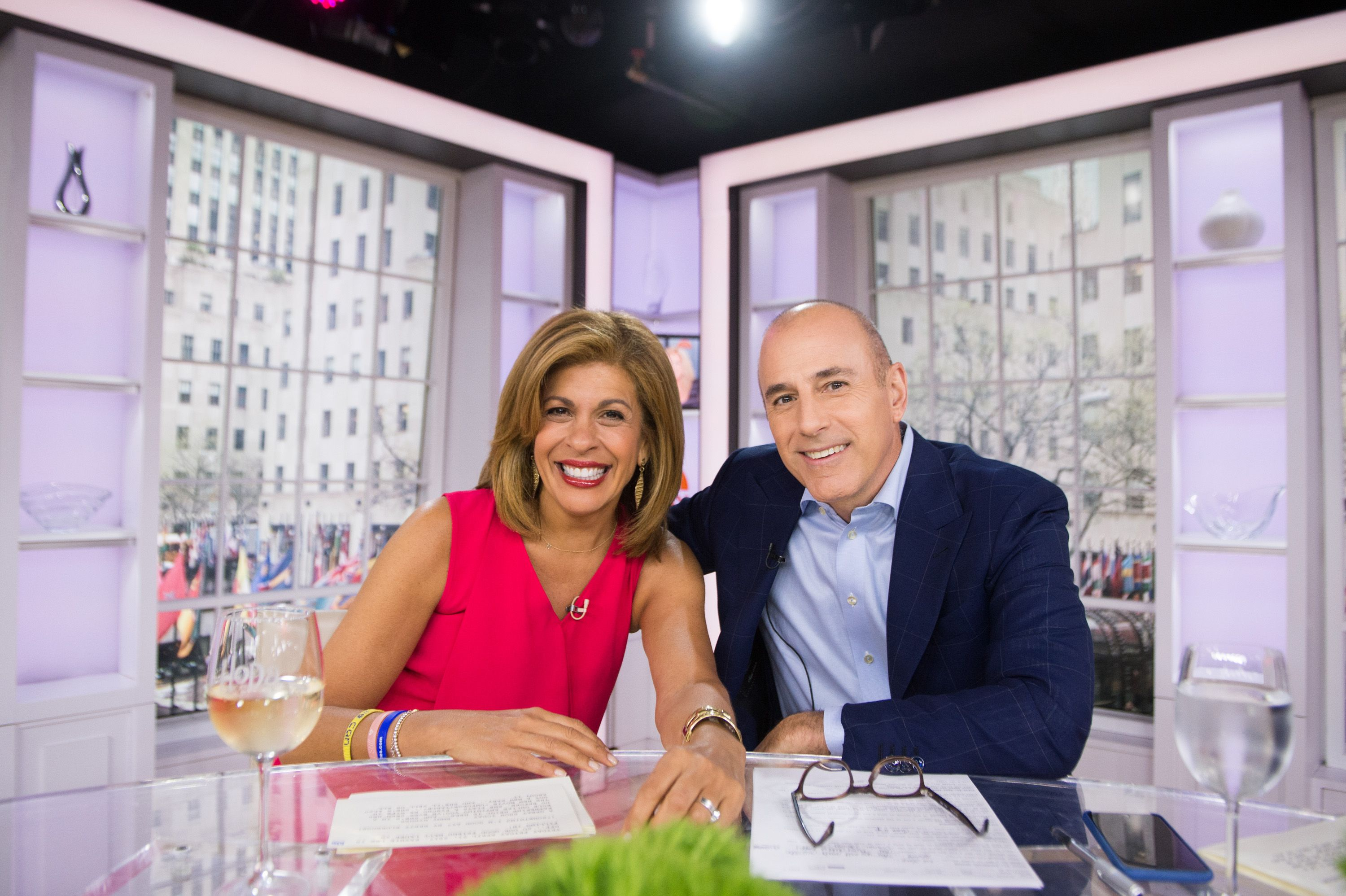 Hoda Kotb And Savannah Guthrie Making Less Money Than Matt Lauer At Today Show