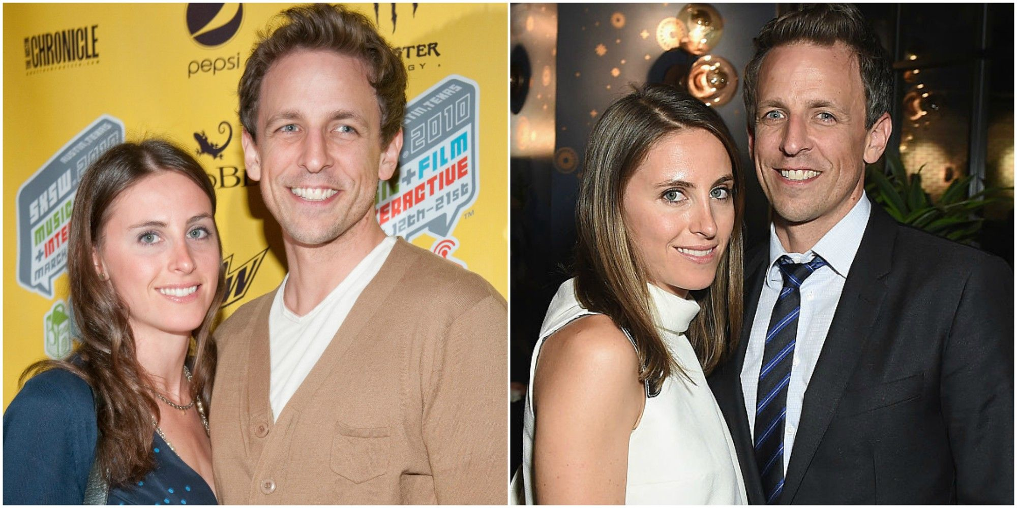 Seth Meyers And Alexi Ashe Love Story Jillie Mack Cats Related