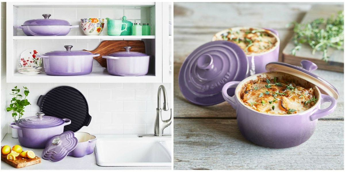 Le creuset lavender collection le creuset at sur la table for Sur la table food scale