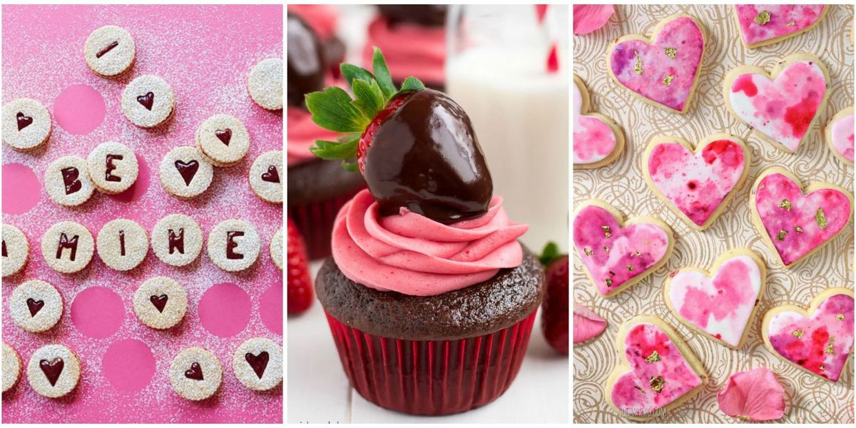 valentine day ideas 45 best s day cookies and cupcakes recipes 28462