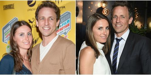 Seth Meyers and Alexi Ashe love story