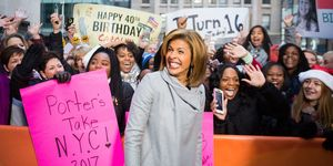 Hoda Kotb on the Today Show